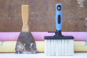 Tapezierer Werkzeuge
