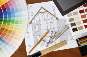 Bauplanung mit Farbrad